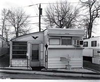 mobil home, carteret, new jersey by george tice