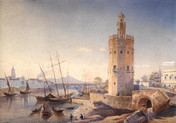torre del oro by paolino de la linde