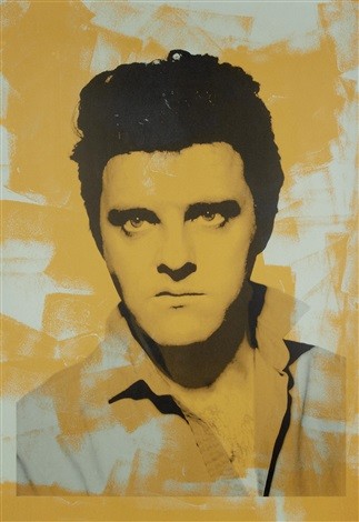 single elvis by gavin turk