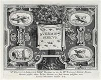 vermis sericus (set of 6, after j. stradanus) by karel van mallery