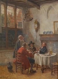 gentleman conversing by max gaisser