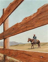 fence frame by richard audley freeman