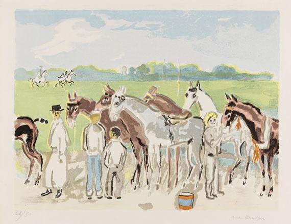 polo deauville soins donnés aux chevaux de course by kees van dongen
