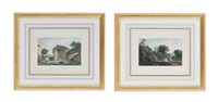 views of rome (12 works) by james (j.) merigot