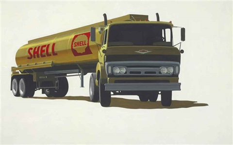 shell truck by robert cottingham