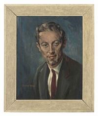 portrait of john bloom by stephen ward