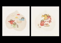 momotaro portfolio of 6 by kazuyuki takishita