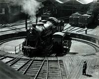 reading rail road, 9th & green yards, philadelphia by william m. rittase