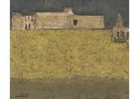 yellow landscape by seiji chokai