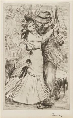 la danse a la campagne by pierre auguste renoir