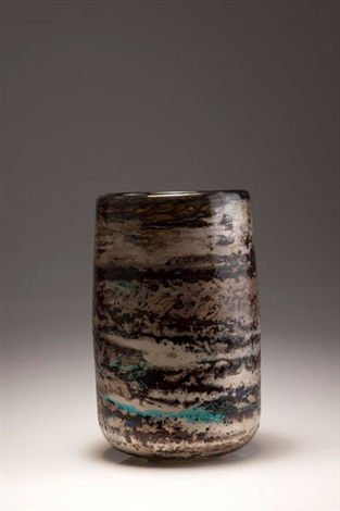 vase winter landscape by adam aaronson