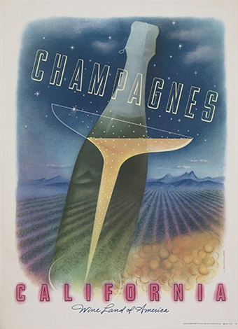champagnes california by louis macouillard