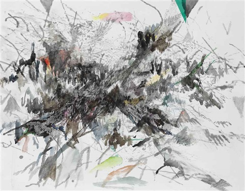 untitled by julie mehretu
