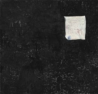 excerpts from kerouac, burroughs, goya by george condo