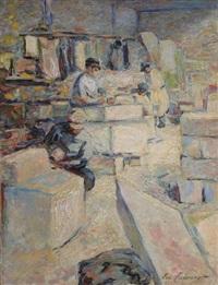 les tailleurs de pierres by emile tabouret