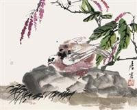 白鸽红蓼 by tang yun