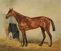 cheval à écurie by ernest alexandre bodoy