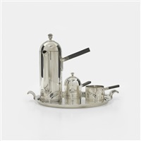 coffee set (set of 4) by lurelle guild