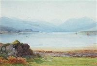killarney lakes, county kerry by george drummond fish