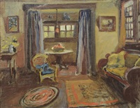 the interior of a room by maxwell stewart simpson