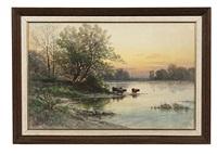 pennsylvania landscape by carl philipp webber