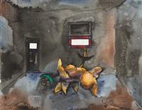 derelict house by albert lee tucker