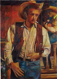 james dean, giant by keith mayerson