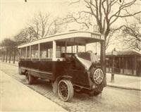 autobus de la ligne a e opéra by eugène atget