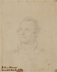 general glover (study) by john trumbull
