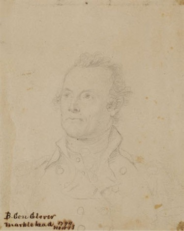 general glover study by john trumbull