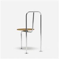 three-legged chair by shiro kuramata