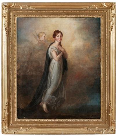 allegorisk kvinnofigur by per krafft the younger