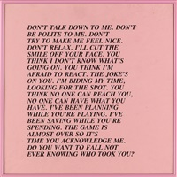 inflammatory essays (group of 23 of 29 works) by jenny holzer