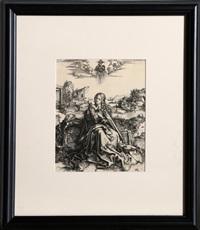 la sainte famille au papillon by albrecht dürer