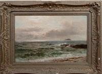 seascape at sundown by john nesbitt