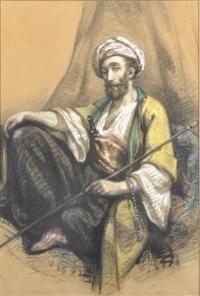 portrait d'orientaliste by léonie gastaldi-lescuyer