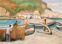 bucht auf capri by gertrud helmholz