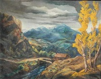 the mountain pass by william joseph eastman