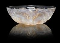bowl: dauphins by rené lalique