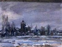paisaje nevado by ricardo macarrón