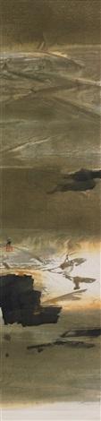 ohne titel abstrakte landschaften pair by bo yun