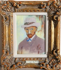 portrait of van gogh by max karp