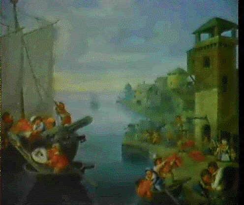 nani in un porto by enrico albricci