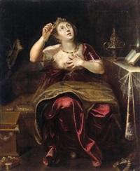 allegorie der vergänglichkeit - allegoria della vanità by angelo caroselli