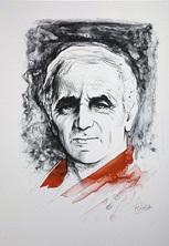 daniel sciora illustre charles aznavour (bk w/72 works) by daniel sciora