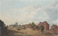 the high street toddington, bedfordshire by thomas fisher