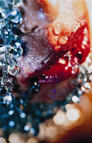 bluest tears by marilyn minter