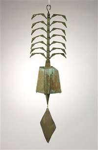 hanging bell by paolo soleri