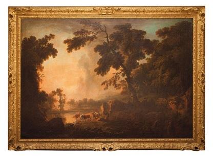 paisaje campestre by george lambert