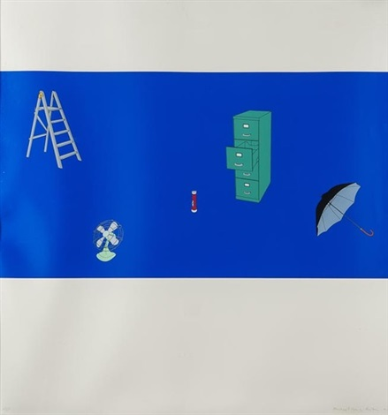 japanese screen set of 3 by michael craig martin